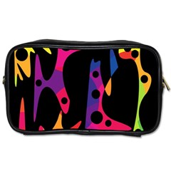 Colorful pattern Toiletries Bags