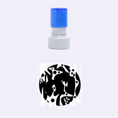 Colorful pattern Rubber Round Stamps (Small)