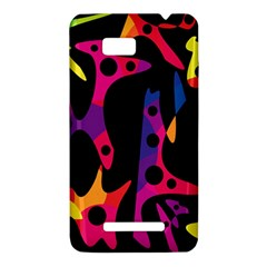 Colorful pattern HTC One SU T528W Hardshell Case