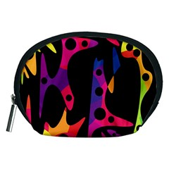Colorful pattern Accessory Pouches (Medium)
