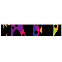 Colorful pattern Flano Scarf (Large)