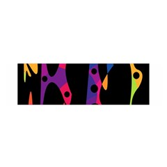 Colorful pattern Satin Scarf (Oblong)