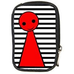 Red pawn Compact Camera Cases