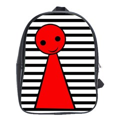 Red pawn School Bags(Large)