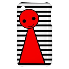 Red pawn Apple iPhone 3G/3GS Hardshell Case