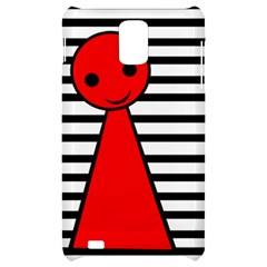 Red pawn Samsung Infuse 4G Hardshell Case