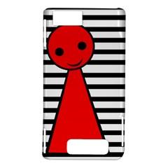 Red pawn Motorola DROID X2