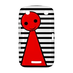 Red pawn BlackBerry Curve 9380
