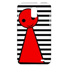 Red pawn Samsung Galaxy S II Skyrocket Hardshell Case