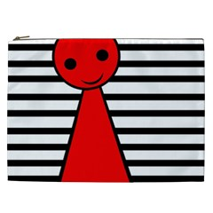 Red pawn Cosmetic Bag (XXL)