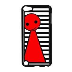 Red pawn Apple iPod Touch 5 Case (Black)