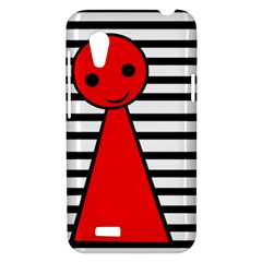 Red pawn HTC Desire VT (T328T) Hardshell Case