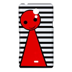 Red pawn Sony Xperia T