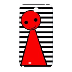 Red pawn Samsung Note 2 N7100 Hardshell Back Case