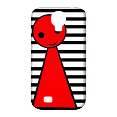 Red pawn Samsung Galaxy S4 Classic Hardshell Case (PC+Silicone)