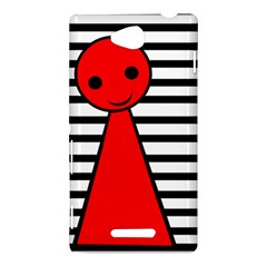 Red pawn Sony Xperia C (S39H)
