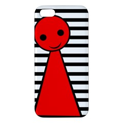 Red pawn iPhone 5S/ SE Premium Hardshell Case