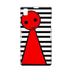 Red pawn Sony Xperia Z1