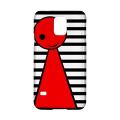 Red pawn Samsung Galaxy S5 Hardshell Case