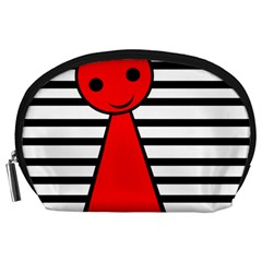 Red pawn Accessory Pouches (Large)