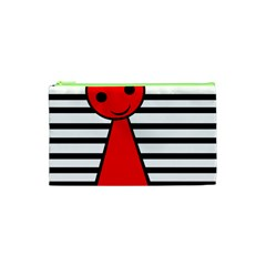 Red pawn Cosmetic Bag (XS)