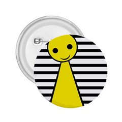 Yellow pawn 2.25  Buttons