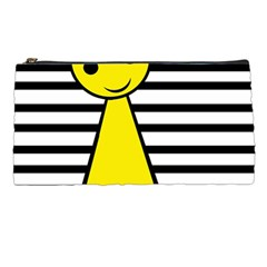 Yellow pawn Pencil Cases