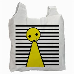Yellow pawn Recycle Bag (Two Side)