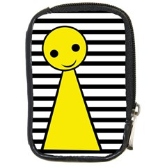 Yellow pawn Compact Camera Cases