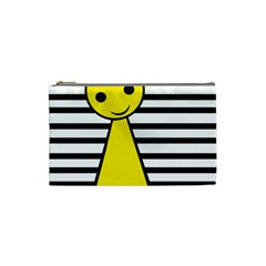 Yellow pawn Cosmetic Bag (Small)