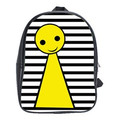 Yellow pawn School Bags(Large)