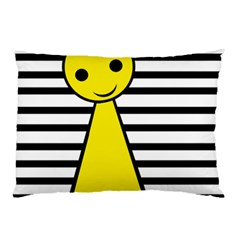 Yellow pawn Pillow Case (Two Sides)