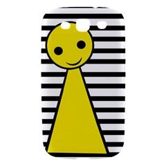 Yellow pawn Samsung Galaxy S III Hardshell Case