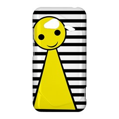 Yellow pawn HTC Droid Incredible 4G LTE Hardshell Case