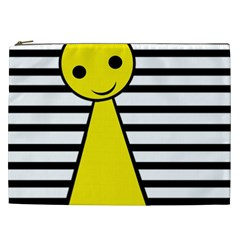 Yellow pawn Cosmetic Bag (XXL)