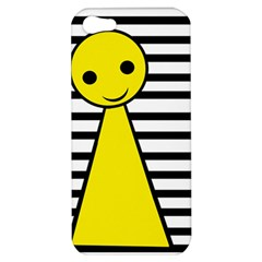 Yellow pawn Apple iPhone 5 Hardshell Case
