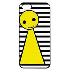Yellow pawn Apple iPhone 5 Seamless Case (Black)