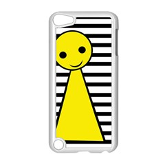 Yellow pawn Apple iPod Touch 5 Case (White)