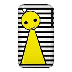 Yellow pawn Apple iPhone 3G/3GS Hardshell Case (PC+Silicone)