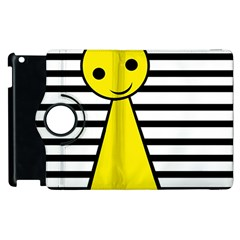 Yellow pawn Apple iPad 3/4 Flip 360 Case