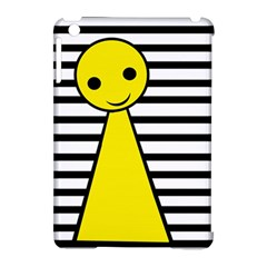 Yellow pawn Apple iPad Mini Hardshell Case (Compatible with Smart Cover)
