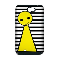 Yellow pawn Samsung Galaxy Note 2 Hardshell Case (PC+Silicone)