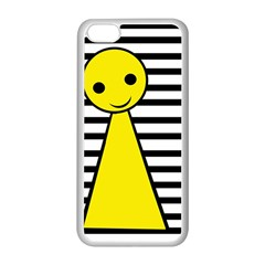 Yellow pawn Apple iPhone 5C Seamless Case (White)