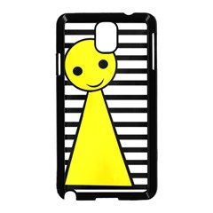 Yellow pawn Samsung Galaxy Note 3 Neo Hardshell Case (Black)