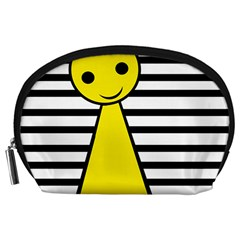 Yellow pawn Accessory Pouches (Large)