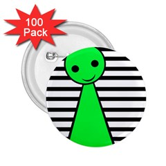 Green pawn 2.25  Buttons (100 pack)