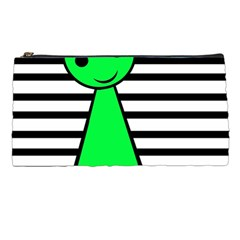 Green pawn Pencil Cases