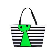 Green pawn Shoulder Handbags