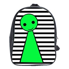Green pawn School Bags(Large)