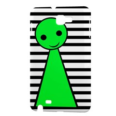 Green pawn Samsung Galaxy Note 1 Hardshell Case